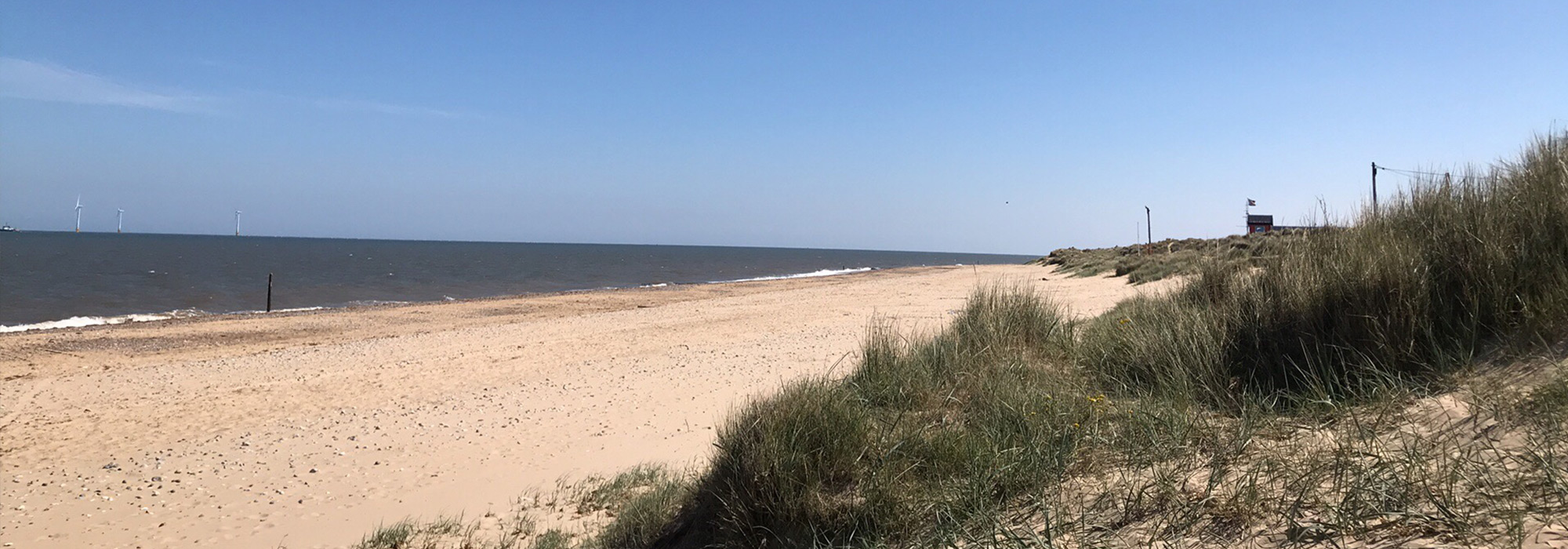 Caister Beach Things Header