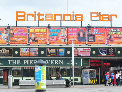 Britannia Pier | Things to do | Caister Beach