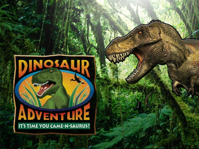 Dinosaur Adventures | Things to do | Caister Beach